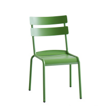 OEM Aluminium frame with powder coating outdoor garden dining chair