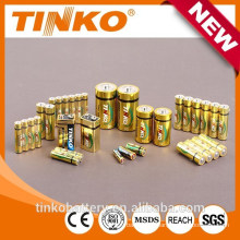 17 years experience with aluminum foil 1.5v alkaline/dry aaa lr03 battery high quality