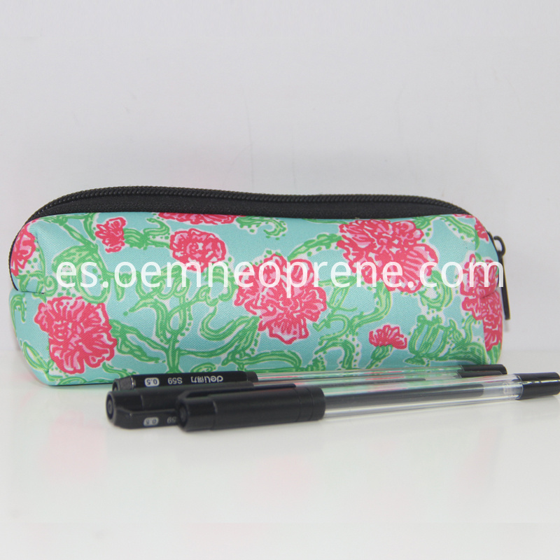 Neoprene pencil bags