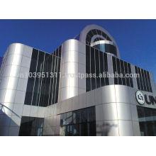 PE PVDF aluminum composite panel size 1220*2440mm ACP