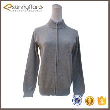 Femme de bonne qualité à tricoter cardigans en cachemire gris à la vente