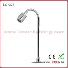 Luz suave de la exhibición de la joyería del tubo de la alta calidad 1W / luz del gabinete LC7327