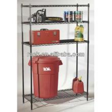 DIY Chrome Grocery Bin armazenar estantes de fio (LD9045180A4E)