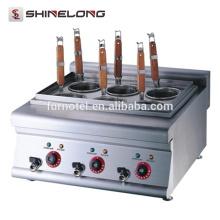 K018 Aço inoxidável Electric Counter Pasta Machine Cooker