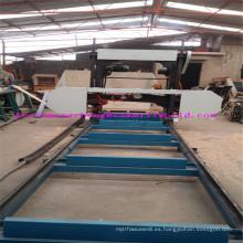 Sierra de cinta horizontal portátil para la máquina de coser de madera de la banda Mj1600