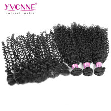 Brazilian Human Hair Bundles with Lace Frontal