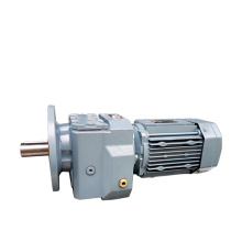 REDSUN R47 Series  helical speed reducers gearbox with 0.18~5.5KW AC motor