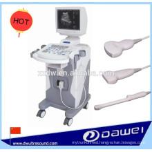 medical ultrasonic scanner & trolley B mode ultrasound machine