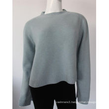New design computer knitted 100% pure cashmere sweater pullover for ladies