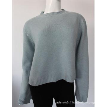 Nouvel ordinateur de conception tricoté pull 100% pur chandail de Cachemire pour les dames