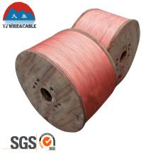 Aprobación SGS Alambre de acero recubierto de cobre CCS Wire 0.4mm 0.45mm 0.51mm