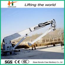 Mini Marina plegable grúa grúa hidráulica 15 ton