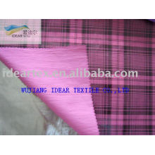 Polyester Nylon Foiled Fabric for Coat