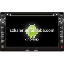 Android 4.4 Mirror-lien TPMS DVR 1080P voiture multimédia central pour Volkswagen Passat B5 / Fox / Spacecross avec GPS / Bluetooth / TV / 3G