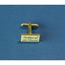 Kundenspezifische Metall-Quadrat-Manschettenknöpfe (GZHY-XK-006)