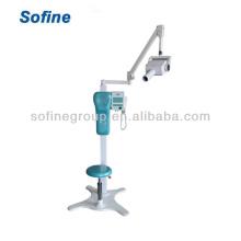 Unidad de radiografía dental de alta eficiencia, tipo de movimiento dental de la máquina de rayos X con CE Unidad de rayos X dental