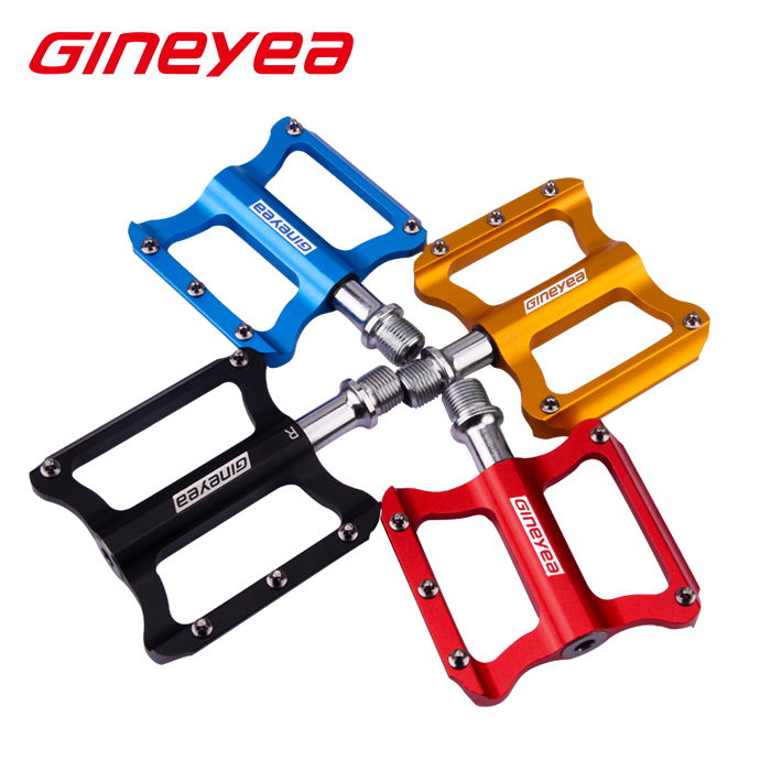 colorful bike pedals