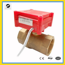 2 way motor control valve 5v for HAVC system brass smaller size