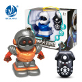 New Product Wholesales Lovely Design RC Robot with Music For Kids