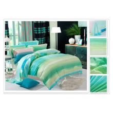 40 * 40s 133 * 72 impressão reativa Purebest tencel roupa de cama de luxo