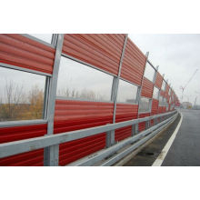 noise barrier(perforated mesh sheet panels)