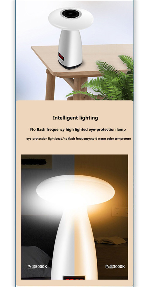 mushroom table light