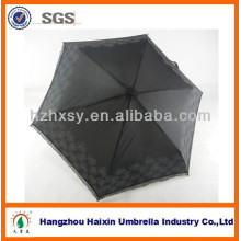 Pli Polyester classique en gros 3 Pocket Mini pluie parapluie