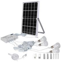 Painéis solares para lâmpada de alimentação do sistema doméstico