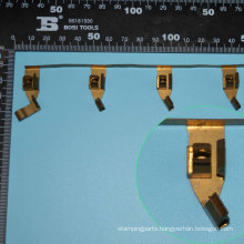 Metal Stamping Process, Electrical Contact for Power Sockets (DS017)