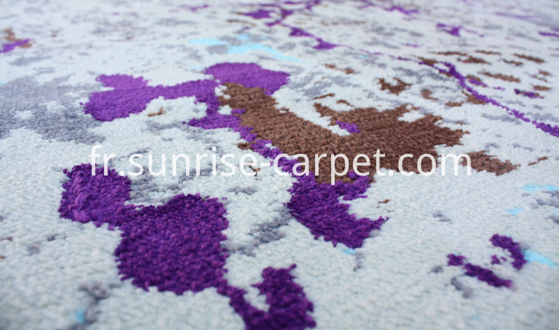 Microfiber Rug with Nature Design