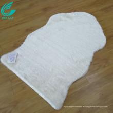 venta de alfombras de piel de oveja de corredor blanco