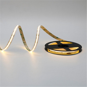 Tira de luz LED amarilla flexible