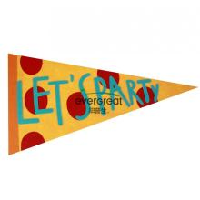 """Let's Party"" Mega Felt strona bunting"