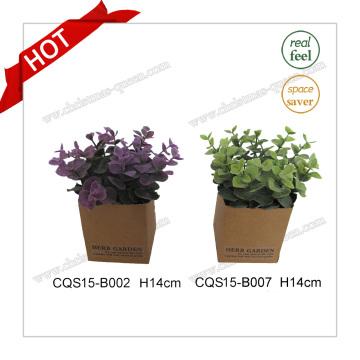 H14cm Оптовые реальные цветы шелка искусственного цвета искусственного растения