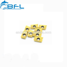 Herramientas de inserción de torneado indexables de carburo de tungsteno BFL para procesamiento de aluminio