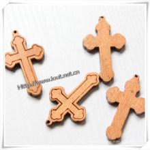 Religious Wood Cross, Wall Cross, Cross with Jesus (IO-cw003)