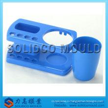 Пластичный держатель чашки зубной щетки изготовление прессформы впрыски