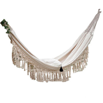 2 Person Double Deluxe Macrame Hammock Swing Chair