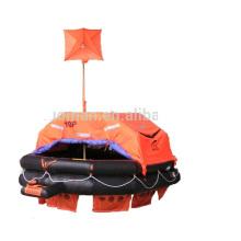 High quality self inflating life raft Solas 10 person liferaft for ship