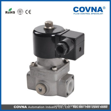 Gas solenoid valve with Aluminum alloy material
