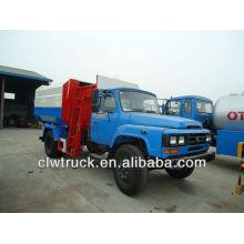 Dongfeng 140 гидравлический погрузчик-мусоровоз-10000L