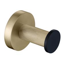 Black Gold Single Towel Hook