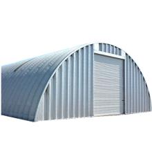 A S Q P shape prefab  houses quonset metal roof storage arch steel garage quonset hut kits