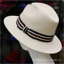 Nuevo sombrero de Fedora de Trilby del estilo de la paja de Panamá del verano