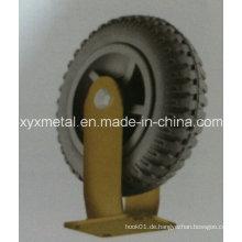 Heavy Duty Caster Wheel Schäumen Gummi Caster Wheel, Reifen, Gear Caster