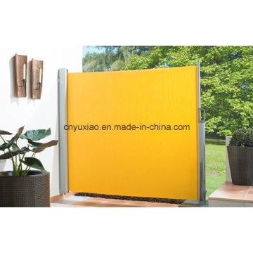 Outdoor Einziehbare Aluminium-Seitenmarkise