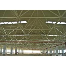 Construcción de almacén de acero