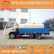 FOTON/FORLAND LHD/RHD 4x2 4000L high pressure washing truck 98hp engine cheap price
