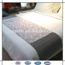 Hotel used bed scarf