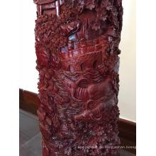 Ein Grad Red Sandelholz Carving